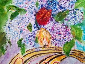 Новая картина ! 9 Мая .. Ярмарка Мастеров - ручная работа, handmade.