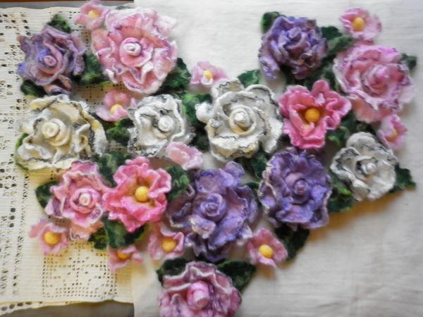 Цветы для Маргариты.   Ярмарка Мастеров - ручная работа, handmade