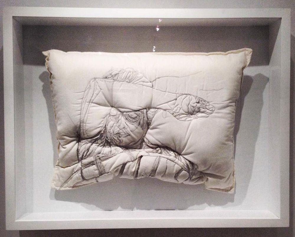 Погруженные в сон: вышивка на подушках Maryam Ashkanian, фото № 8