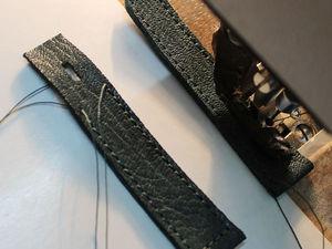 Мастер-класс по изготовлению ремешков для часов | Ярмарка Мастеров - ручная работа, handmade