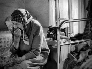 Одинокая старость (из восстановленного) | Ярмарка Мастеров - ручная работа, handmade