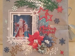 Новогодний фотоальбом. Ярмарка Мастеров - ручная работа, handmade.