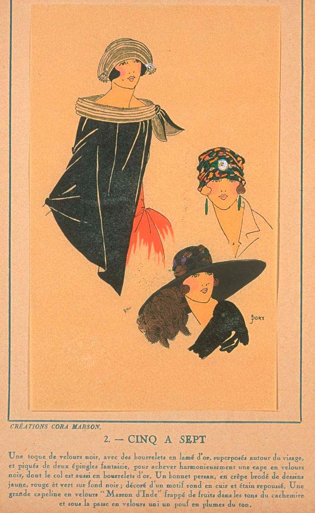 Ах, какие шляпки! Шляпная мода 1922 года по версии французского журнала «Les chapeaux du Tres parisien». Часть 2, фото № 23