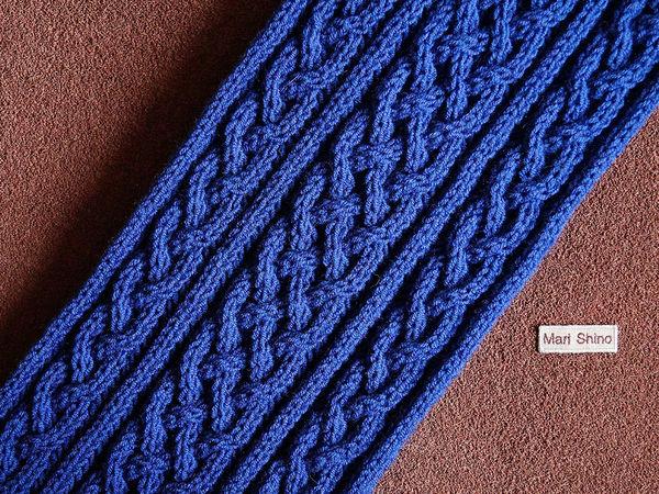 Вязаный шарф-снуд в коллекции авторских работ