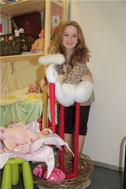 стенд Дарьи Пановой - VII Международный кукольный салон