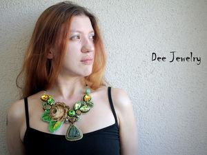 Новинки от Dee Jewelry на модели. Ярмарка Мастеров - ручная работа, handmade.