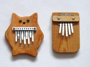Калимбы. Примеры звучания.. Ярмарка Мастеров - ручная работа, handmade.