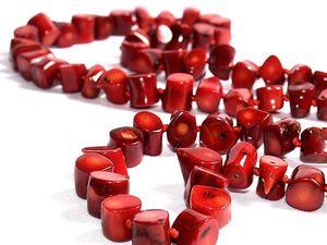 Коралл: камень, подаренный морем. Ярмарка Мастеров - ручная работа, handmade.