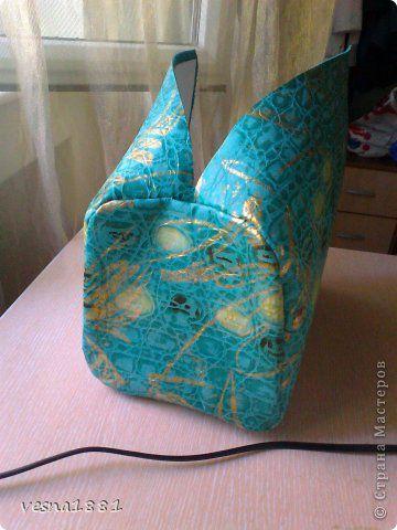 Гардероб Мастер-класс Шитьё Пошив кожаной сумки своими руками Кожа фото 9