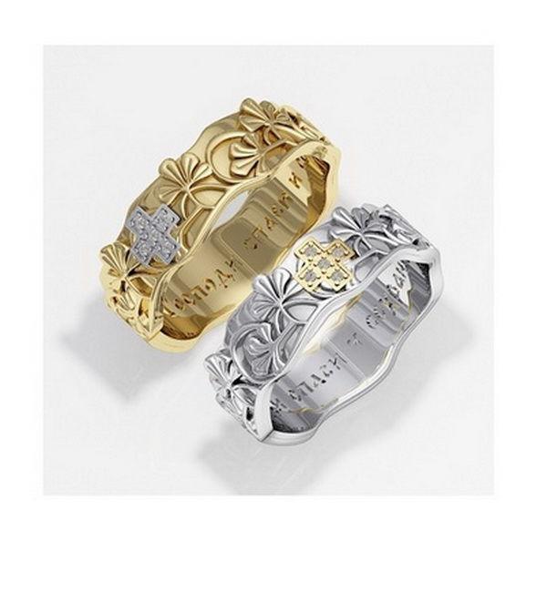венчание, венчальное кольцо, венчальные кольца, обручение, обручальное кольцо, кольцо с молитвой, православное кольцо, кольцо спаси и сохрани, кольцо из золота, кольцо из серебра