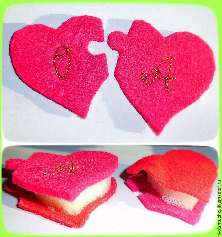 день влюбленных, неразлучайки, половинки сердец, украшение с сердечком, подарок для любимого