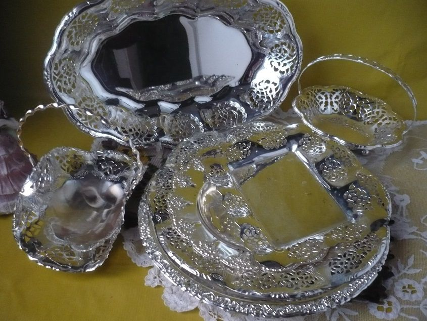 посуда, металлическая