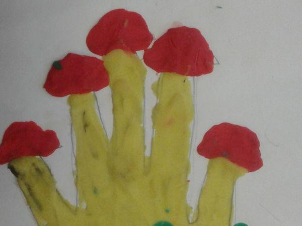 Грибочки на Опушке | Ярмарка Мастеров - ручная работа, handmade