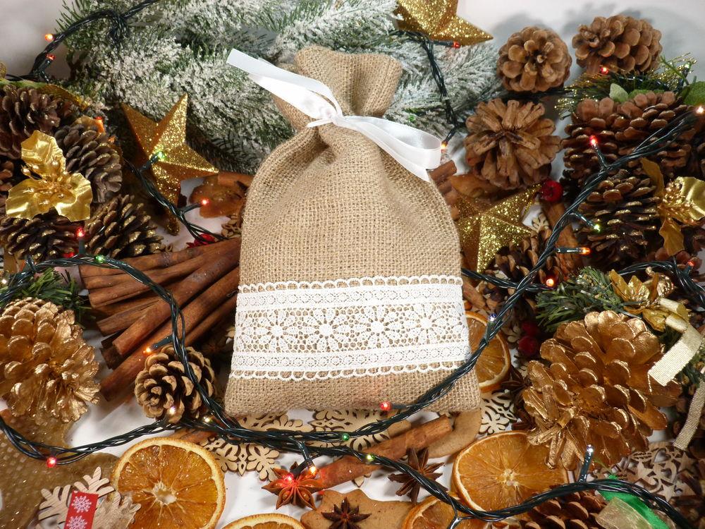 мешочек, подарок на новый год