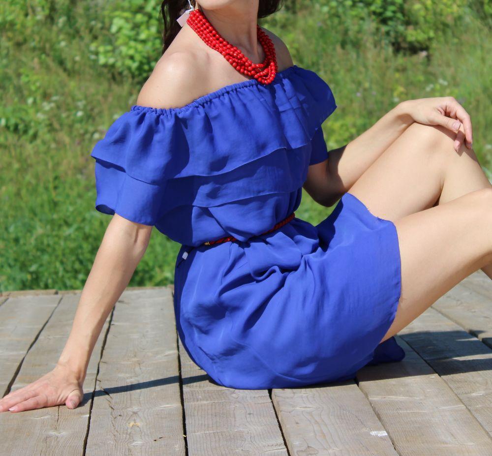 платье, синее платье, платье с воланом, платье для девочки, акция месяца, акция 2017, скидка 2017, распродажа одежды, распродажа 25%, sale