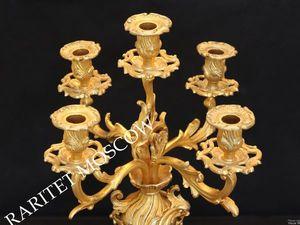 Раритетище Подсвечник бронза золото Франция 30. Ярмарка Мастеров - ручная работа, handmade.
