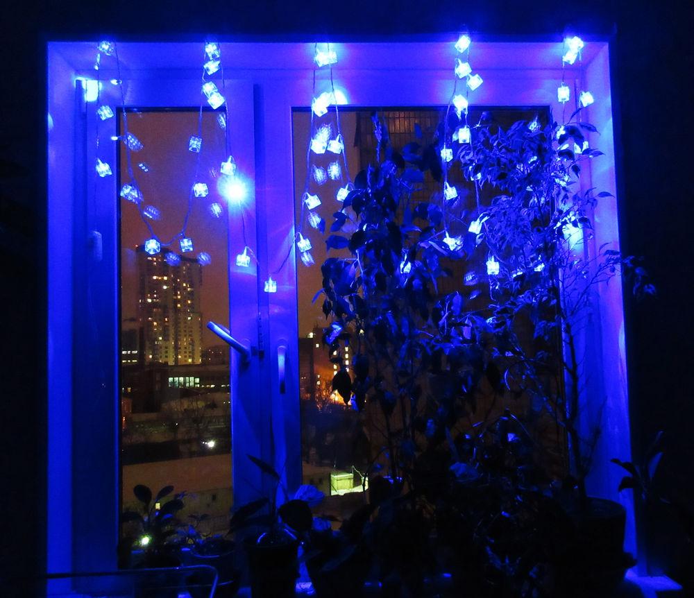 праздничные огни