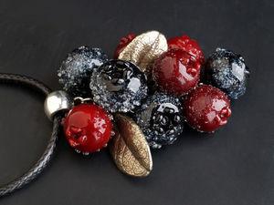 Заснеженные ягодки в подарок!. Ярмарка Мастеров - ручная работа, handmade.