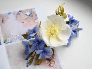 Как сделать красивую серединку для цветка из ткани?. Ярмарка Мастеров - ручная работа, handmade.