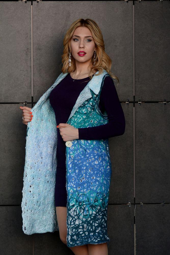 женский жилет, модный цвет