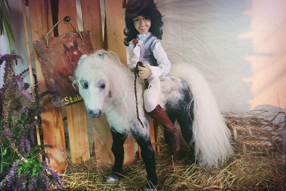 валяный конь