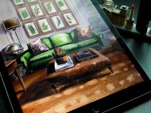 Видео дивана. Ярмарка Мастеров - ручная работа, handmade.