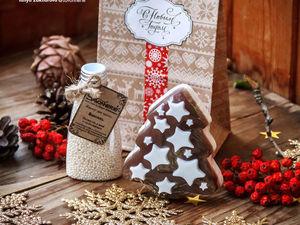 Новогодние наборы в крафт-пакетах!. Ярмарка Мастеров - ручная работа, handmade.