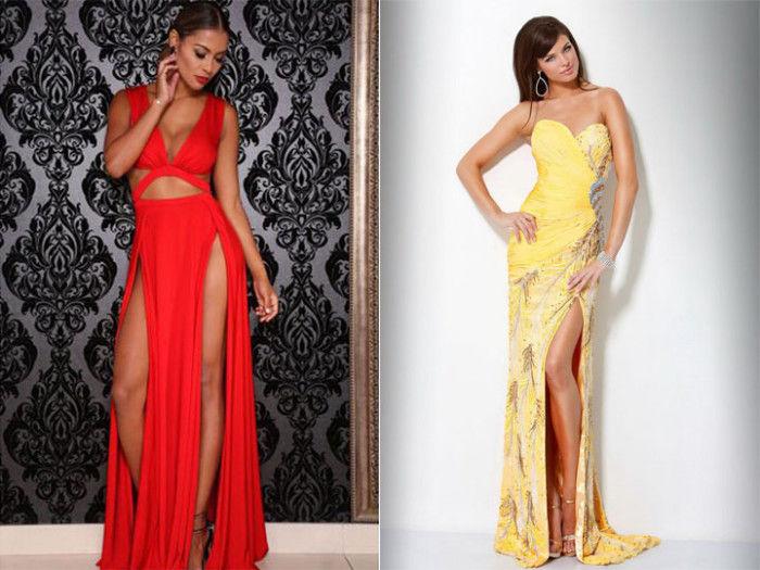 популярные фасоны платьев