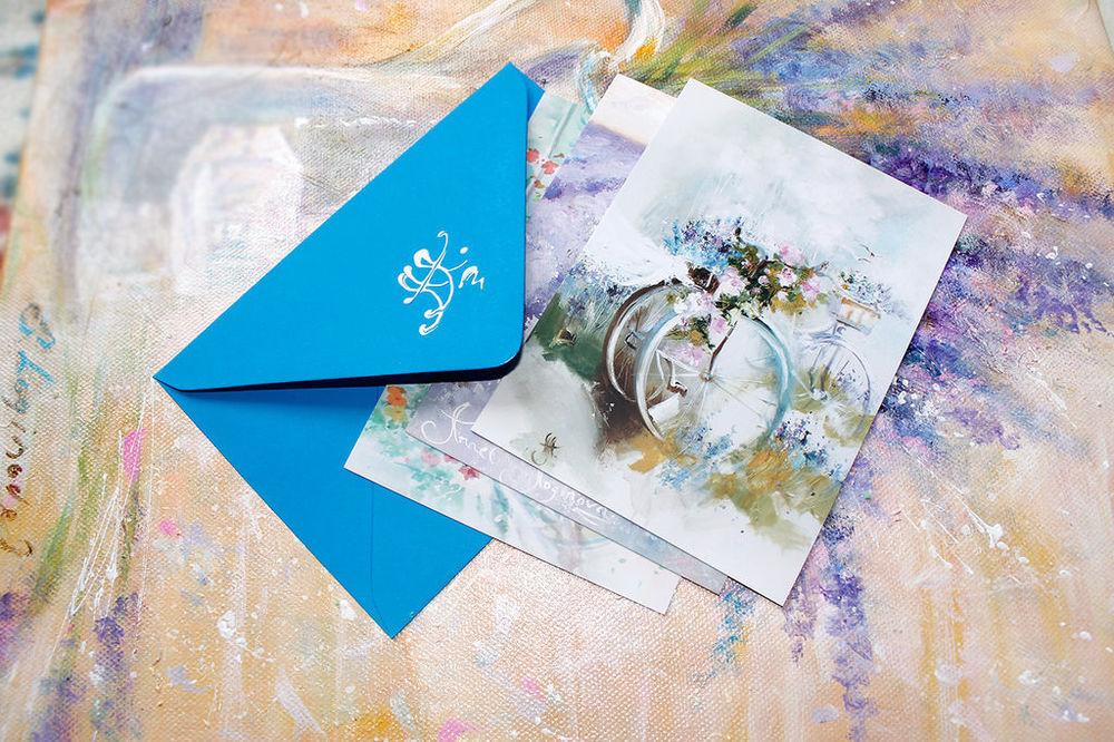 Набор почтовых открыток в упаковке