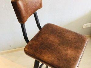 Новая модель барного стула. Ярмарка Мастеров - ручная работа, handmade.
