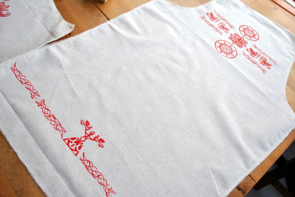 русские традиции, народный стиль, льняная одежда