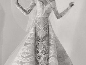 Коллекция свадебных платьев от ливанского дизайнера  Elie Saab. Осень-зима 2017-2018. Ярмарка Мастеров - ручная работа, handmade.