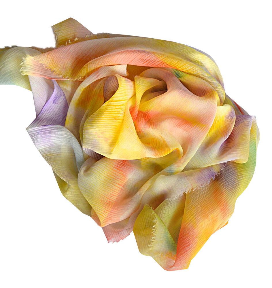 акция, бесплатная доставка, шарф шёлковый, шелковый шарф, шарф шелковый батик, шёлковый шарф батик, живописные радости, зорина надежда