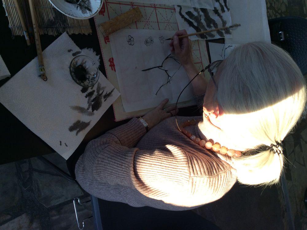 китайская живопись, рисование для начинающих, рисование для взрослых