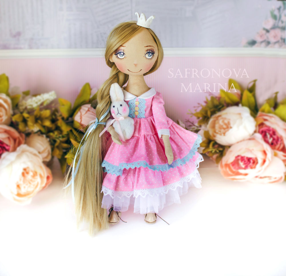 купить авторская кукла, купить куклу в подарок