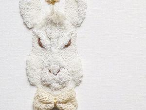 Скульптуры «Хранители» в технике люневильской вышивки от  Kyoko Sugiura. Ярмарка Мастеров - ручная работа, handmade.