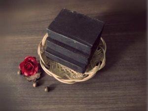 Новинка магазина Горький шоколад натуральное мыло с нуля. Ярмарка Мастеров - ручная работа, handmade.