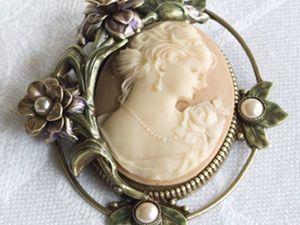 Флористика и не только в изящной бижутерии художника Shelley Cooper. Ярмарка Мастеров - ручная работа, handmade.