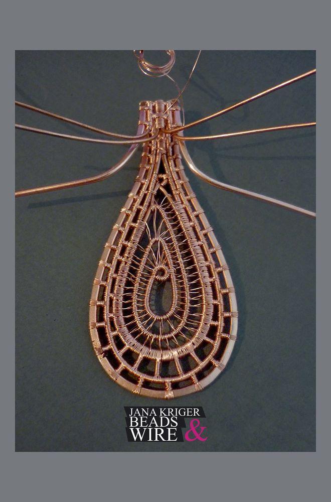 Мои Маленькие Истории Wire Wrap. Часть 3 - Колье., фото № 4
