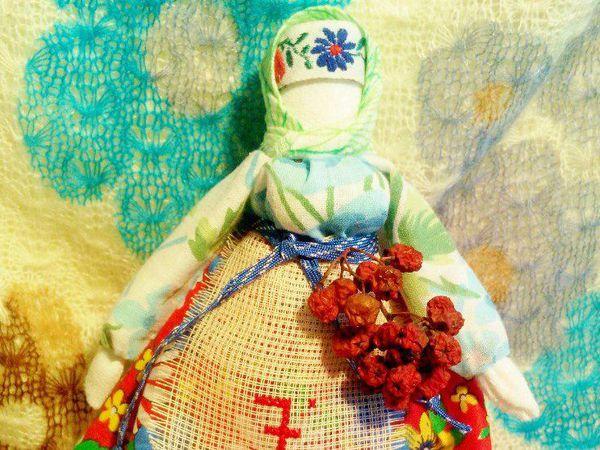 Традиционные текстильные куклы: Рябинка   Ярмарка Мастеров - ручная работа, handmade