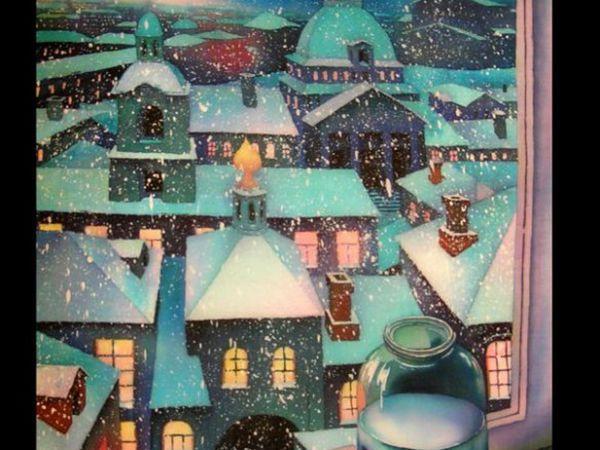 Мастер-класс по Батику ВТОРНИК 20 декабря 11-00. Холодный батик. | Ярмарка Мастеров - ручная работа, handmade