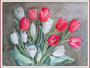 Картины цветов  - распродажа! | Ярмарка Мастеров - ручная работа, handmade