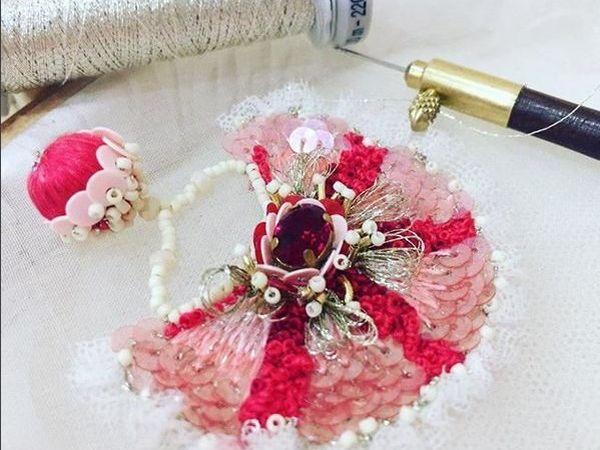 Красный цвет в вышивке украшений | Ярмарка Мастеров - ручная работа, handmade