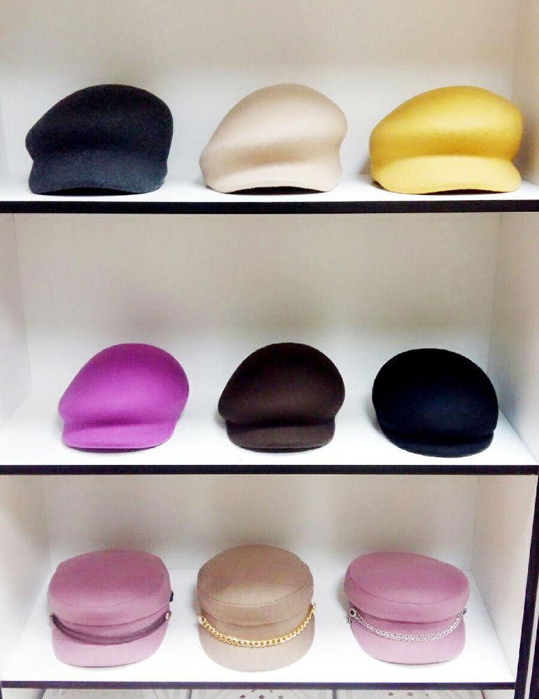 двухцветная шляпа