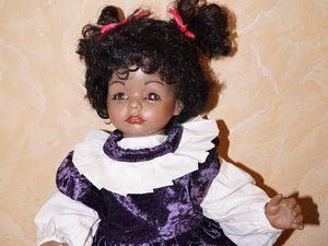 Фарфоровая красавица Metzner по молду Susan Wakeen (доп. фото). Ярмарка Мастеров - ручная работа, handmade.
