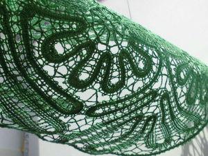 Косынка цвета молодой зелени на заказ.   Ярмарка Мастеров - ручная работа, handmade