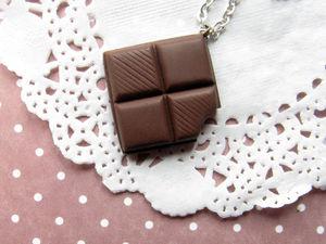 Мастер-класс по созданию «Шоколадного кулона». Ярмарка Мастеров - ручная работа, handmade.