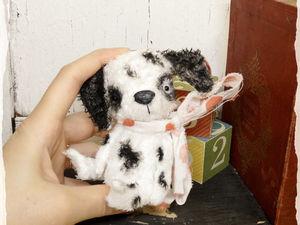 Сегодня собачка 1000 руб !!!. Ярмарка Мастеров - ручная работа, handmade.