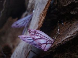 Новинка! Шёлковые крылышки с флюоритами. Ярмарка Мастеров - ручная работа, handmade.