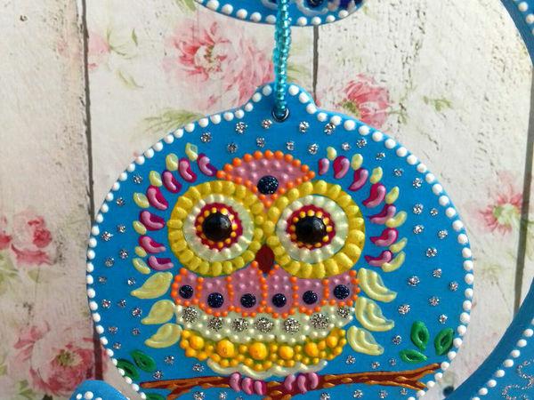 Елочка - Совушка для Ольги | Ярмарка Мастеров - ручная работа, handmade